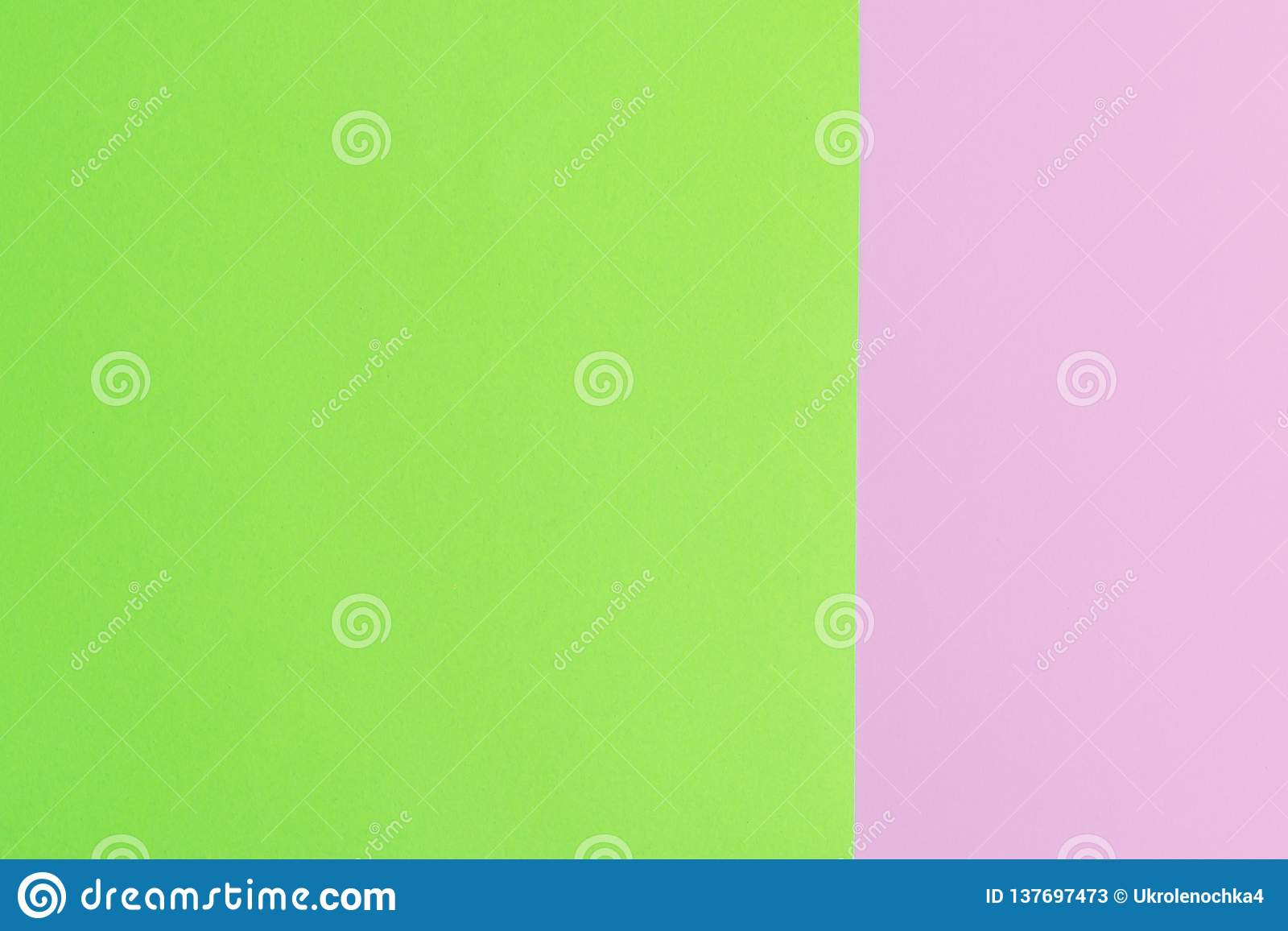 Soft pink and green paper as texture background. Minimal concept. Creative concept. Pop Art. Bright Sweet fashion Style.