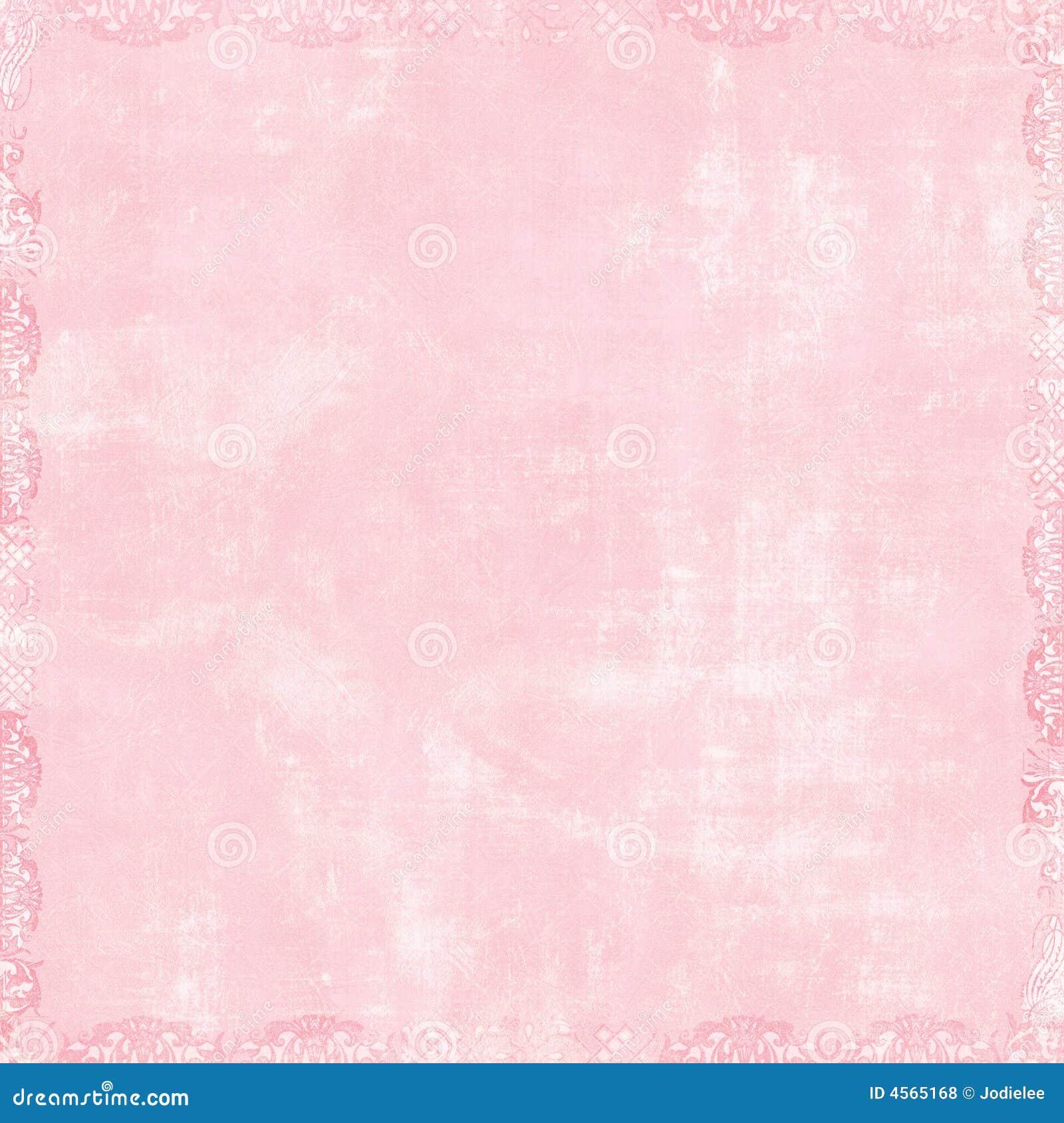 Soft Pink Scrapbook Background Stock Illustration - Image