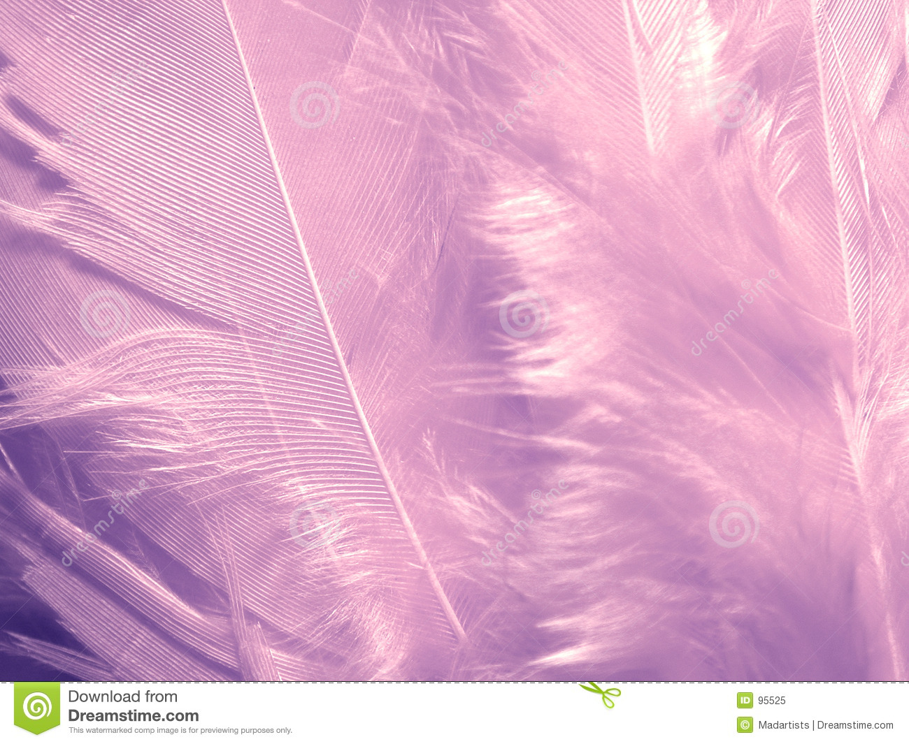 Soft Purple Feathers Texture