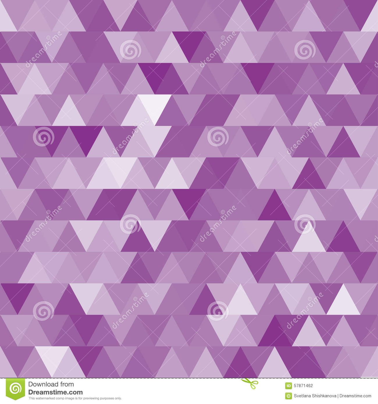 Soft Purple Vector Seamless Pattern With Triangles. Stock Vector ... 0da2d1518