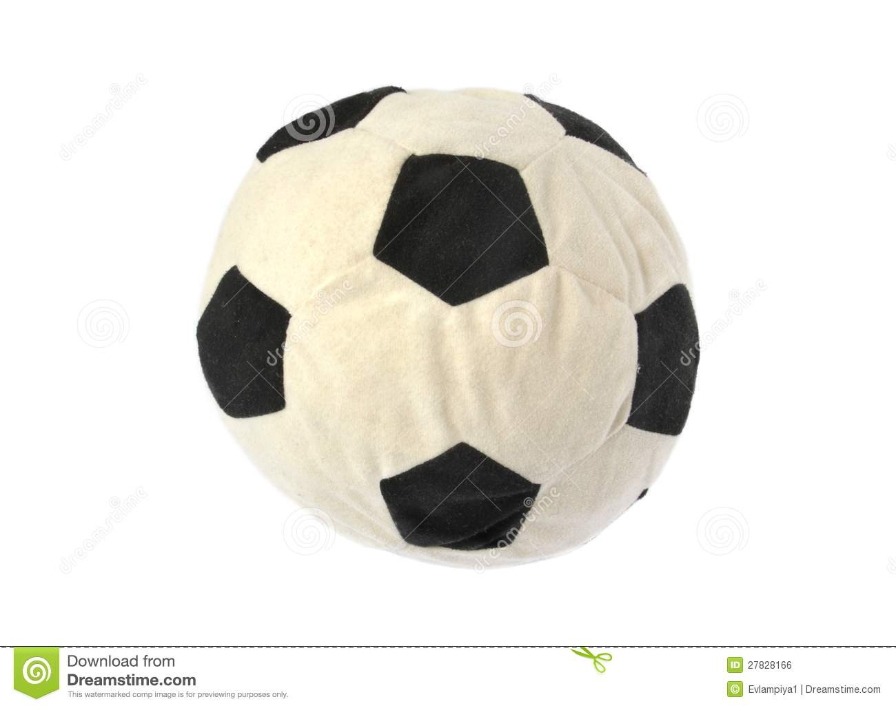 Soft Soccer Ball Royalty Free Stock Image - Image: 27828166
