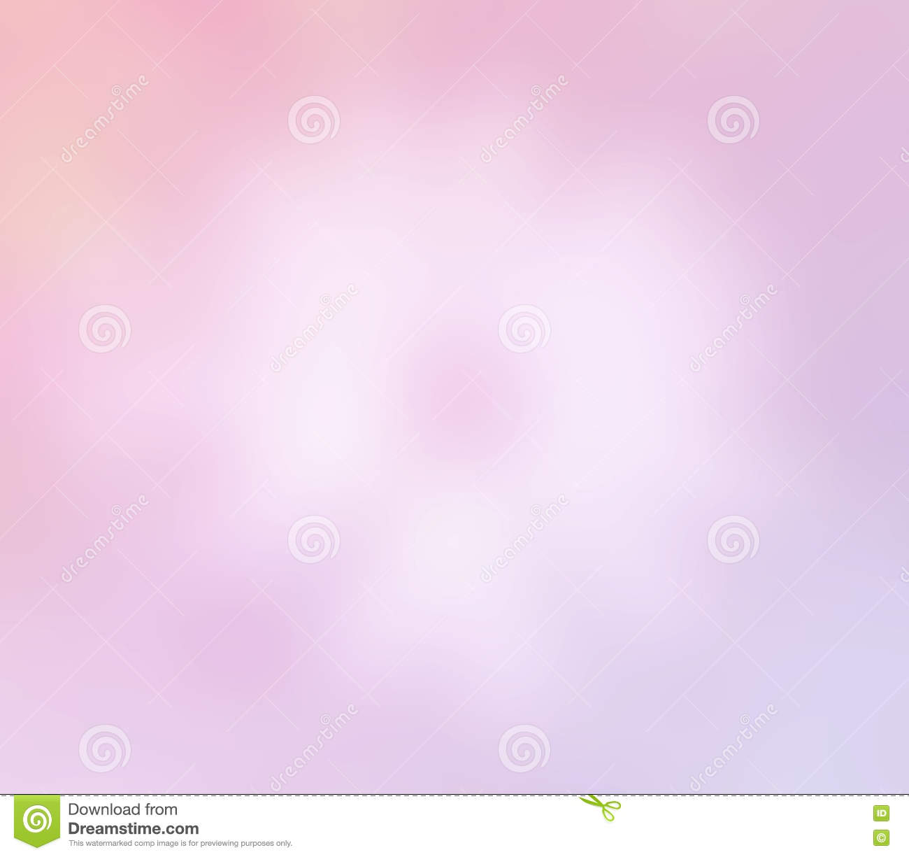 Soft Sweet Blurred Pastel Color Background Abstract