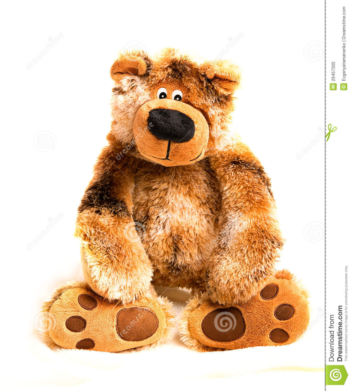 Soft Toy Teddy Bear Brown Stock Photo - Image: 29457300