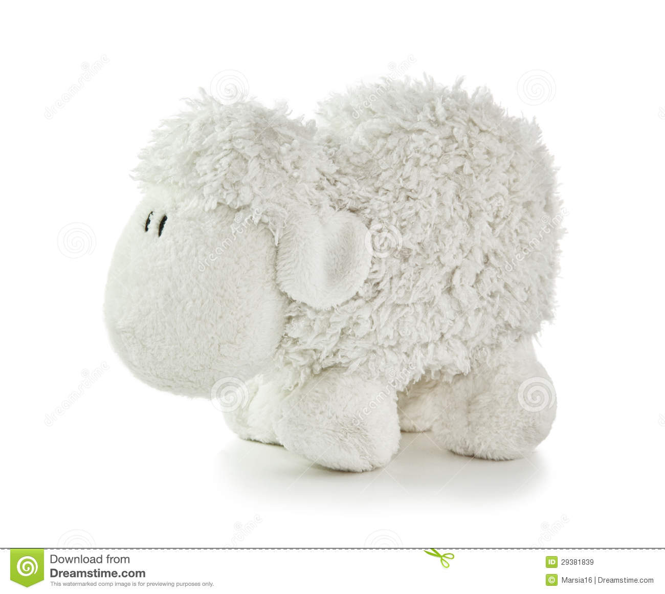 Soft Toy White Lamb Royalty Free Stock Images - Image ...