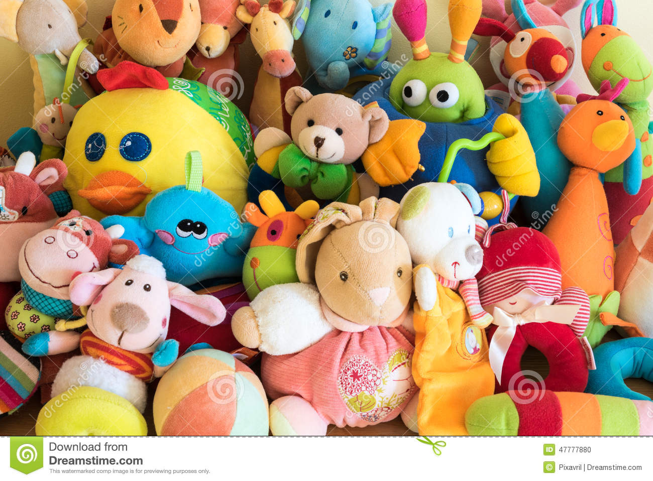 Soft Toys Stock Photo Image Of Cute Adorable Soft 47777880