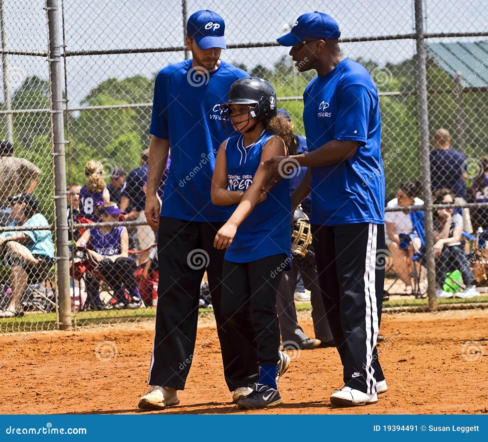 Softball τραυματισμών s κοριτσιών