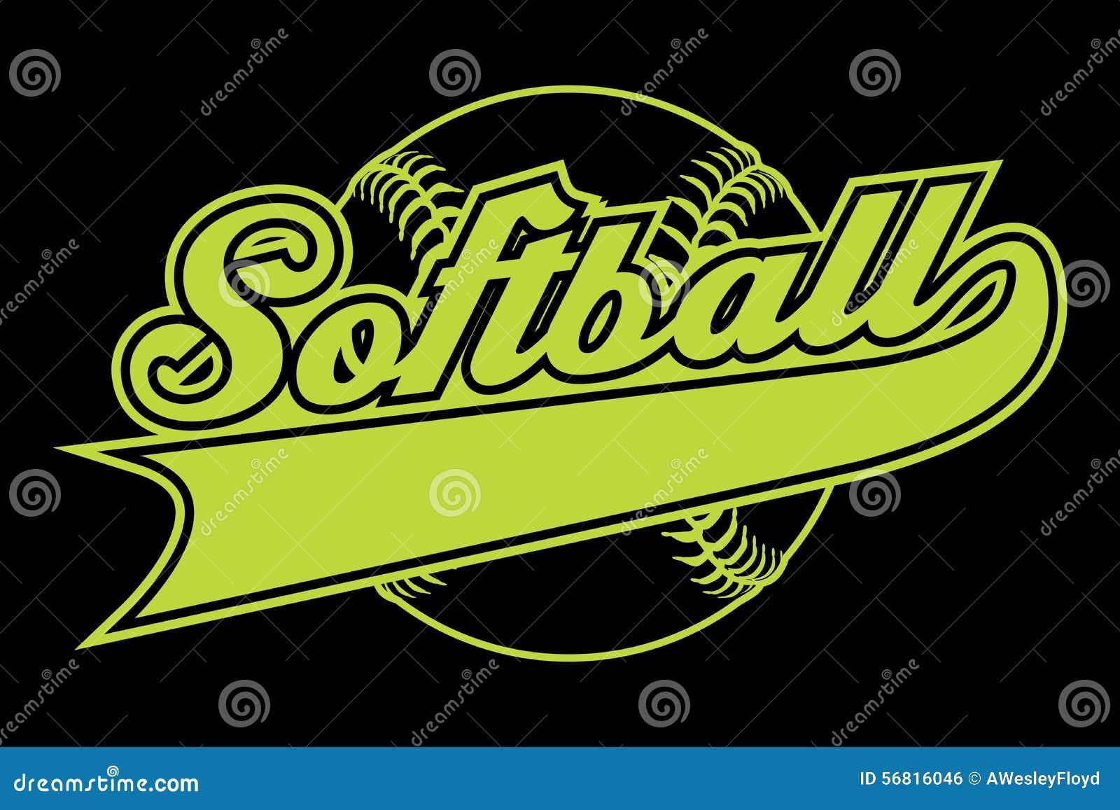 How To Design A Softball Logo