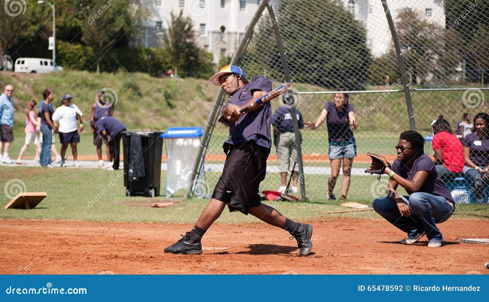 Softballspel
