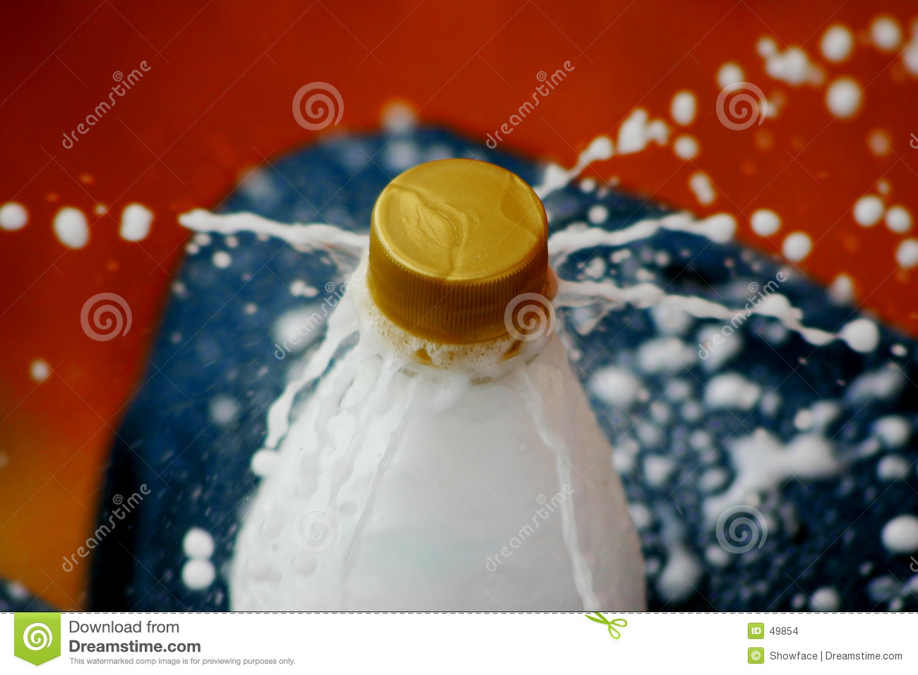 Softdrink Explosion Stock Images Image 49854