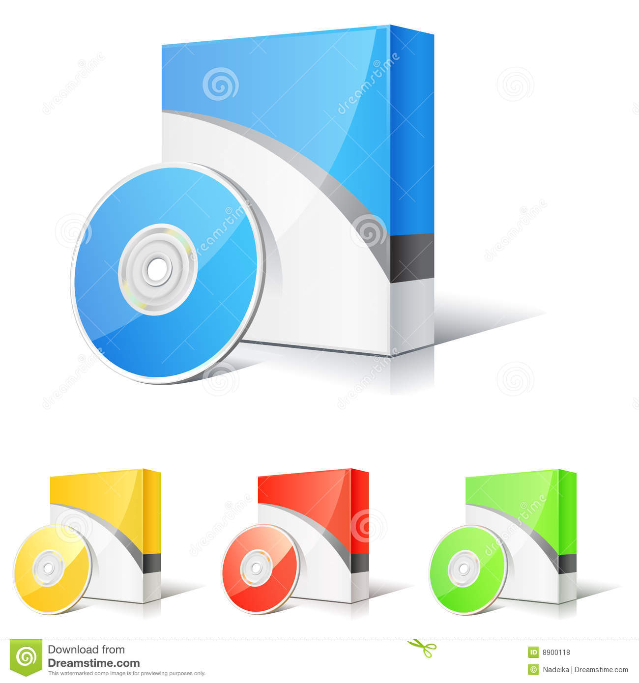 Software box royalty free stock photos image 8900118 Vector image software