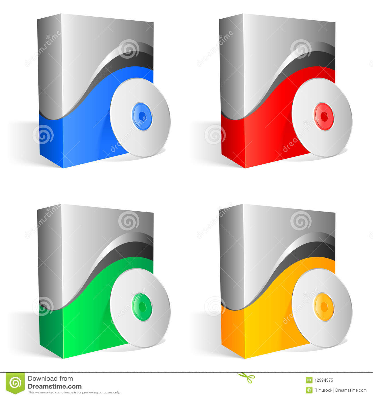 Software Boxes Royalty Free Stock Photo Image 12394375