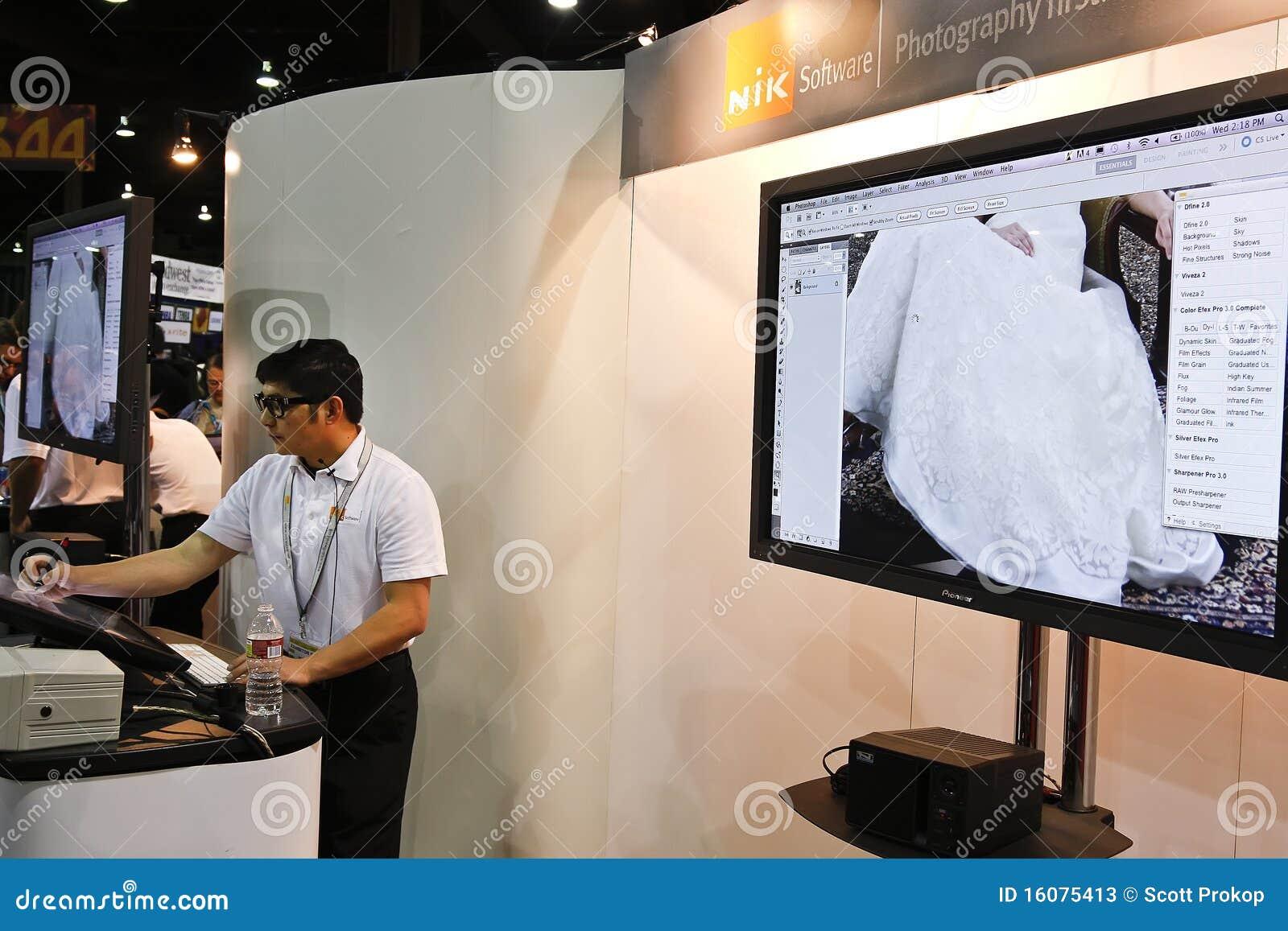 Software de Nik en la conferencia y la expo del mundo de Photoshop