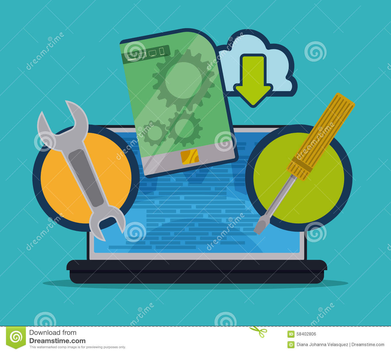 Software design Vector image software