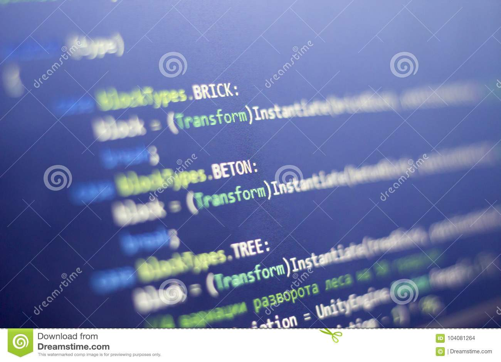 Software Development C-Sharp C ,  NET Code Close Up  Macro