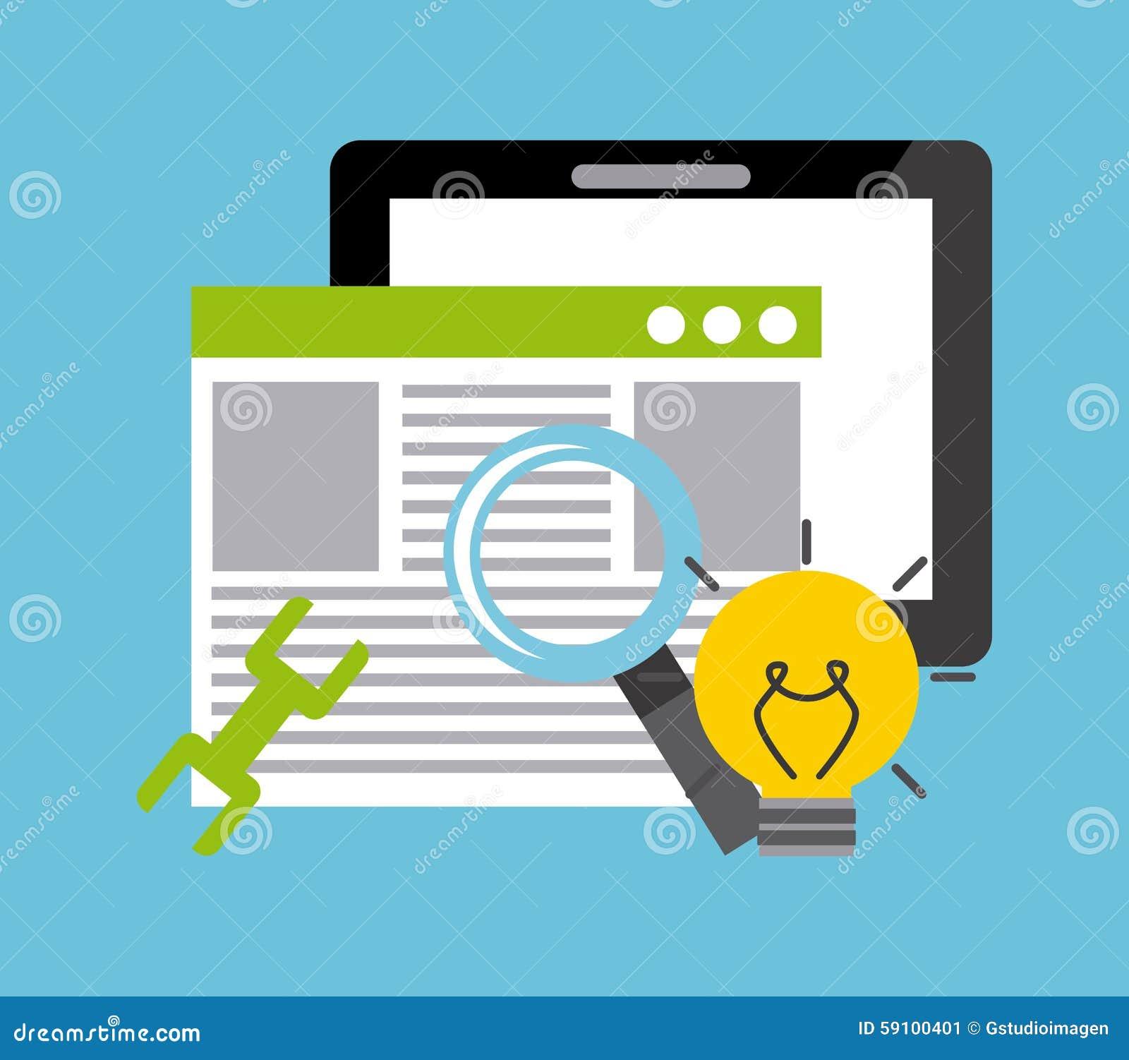 Software development stock vector image 59100401 Vector image software