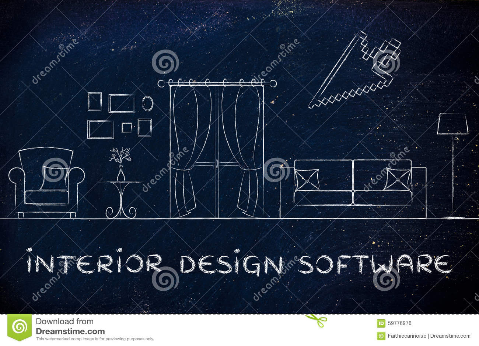 Software do design de interiores