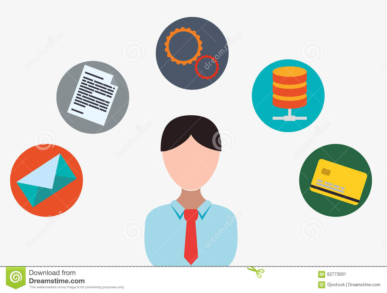 Software Icons Design Stock Illustration Image 62773001