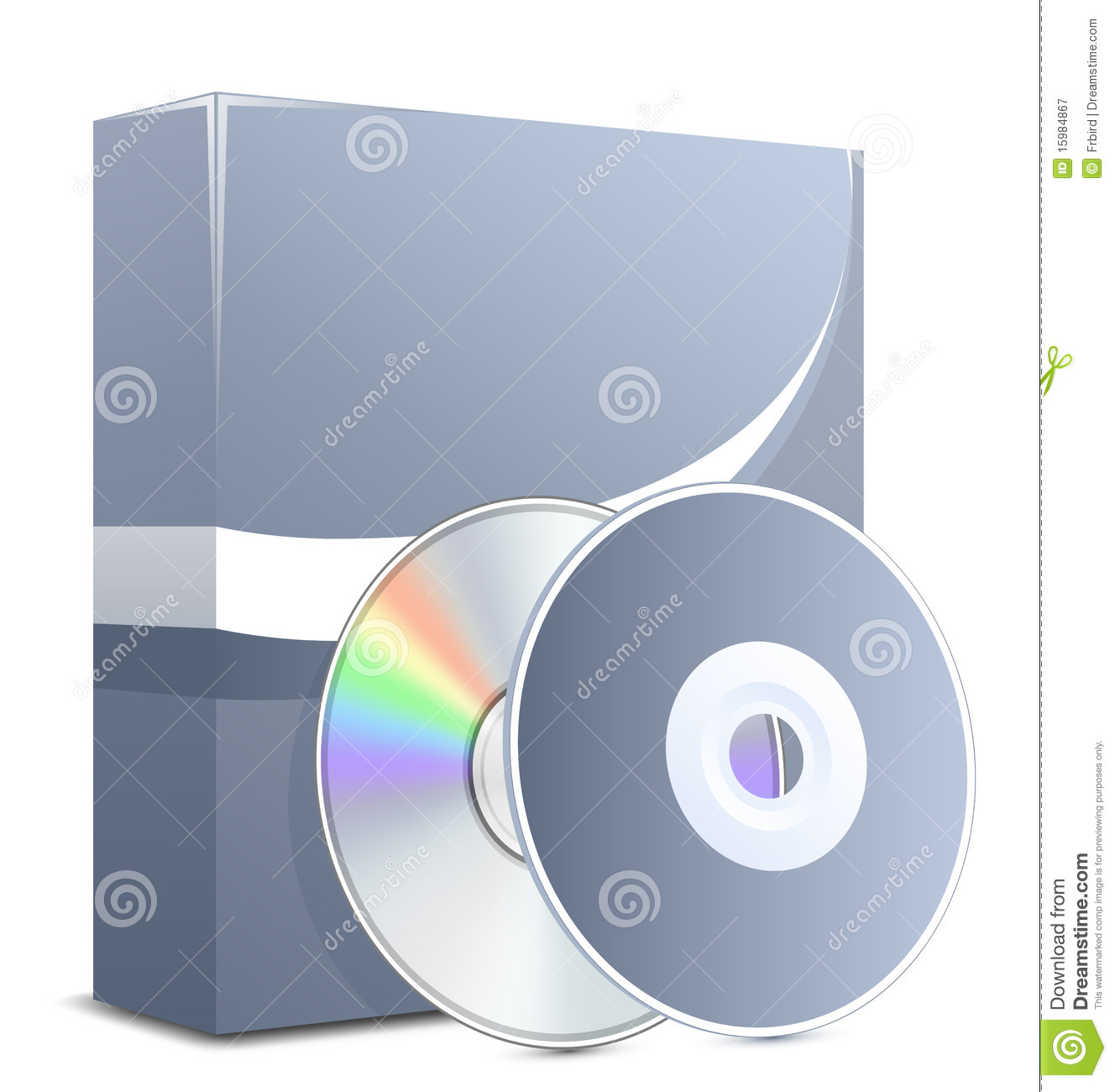 Software product in box