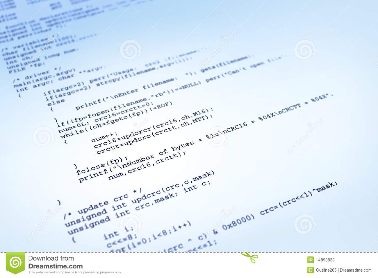 Software Program On Blue Background Royalty Free Stock Photos - Image ...