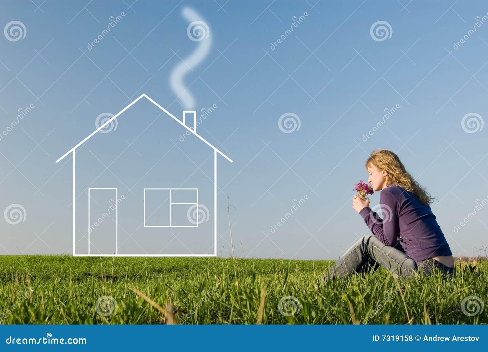 Sogni della ragazza della casa