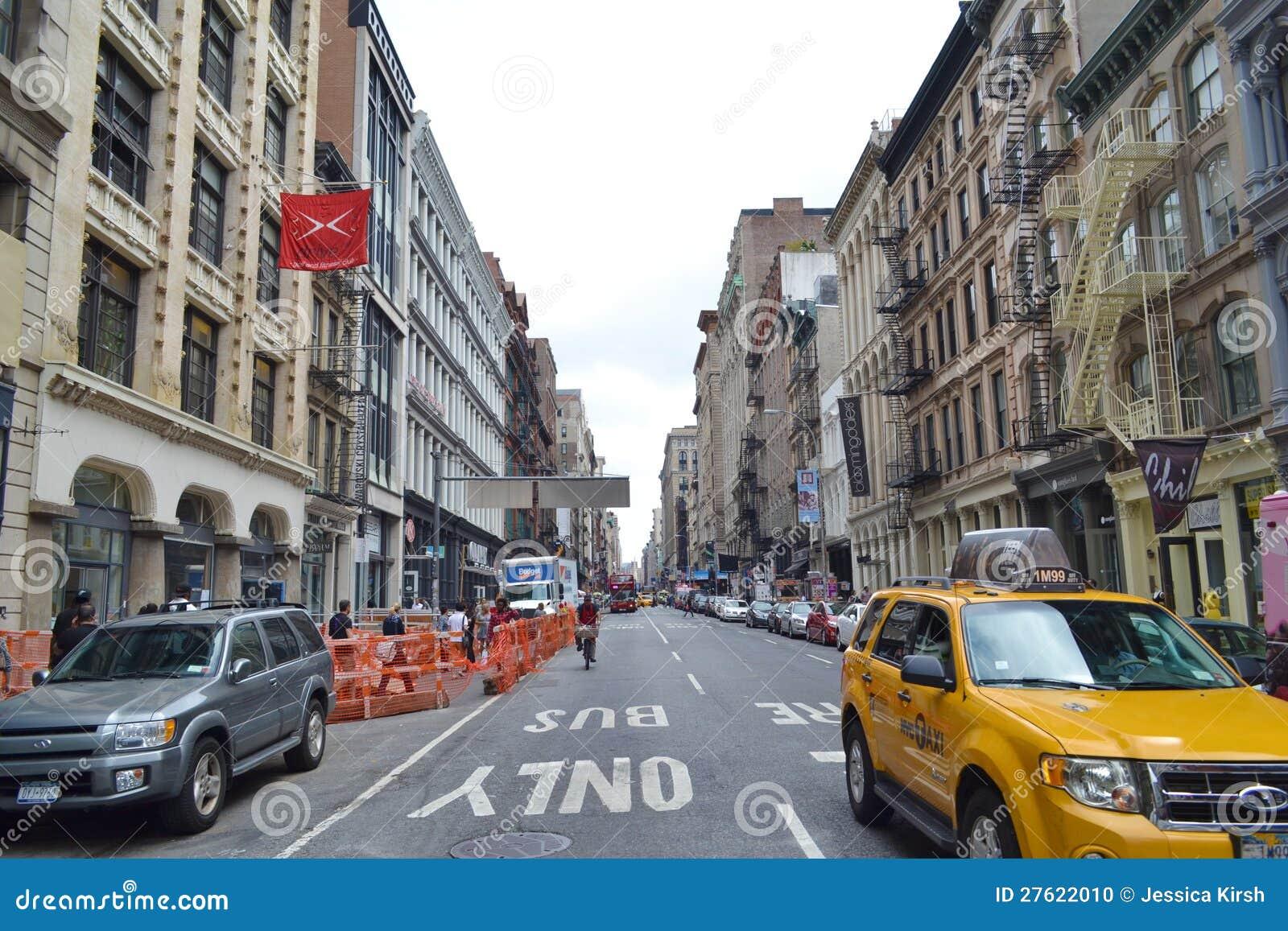 SoHo i New York City