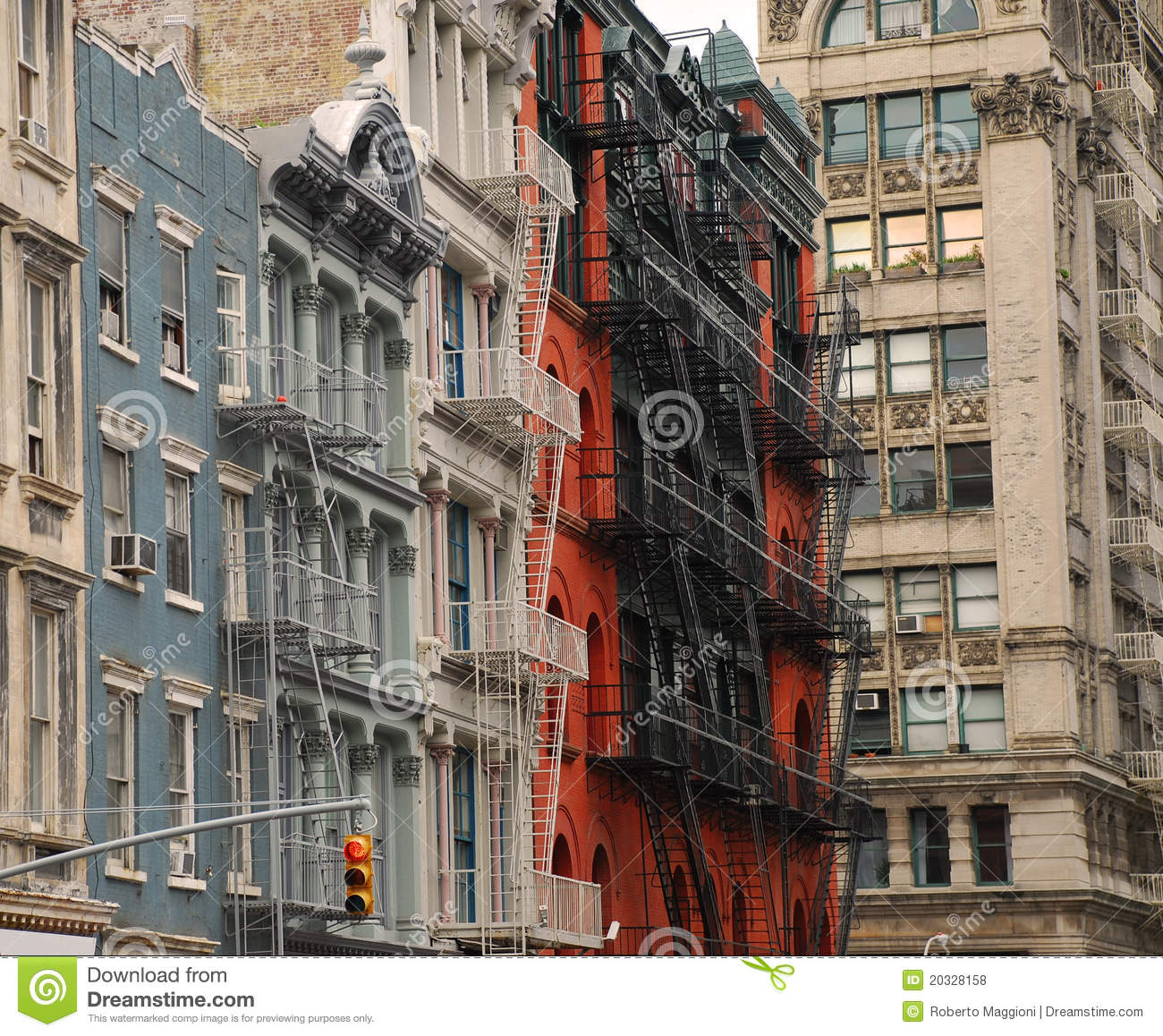 Soho New York. Typical Architecture