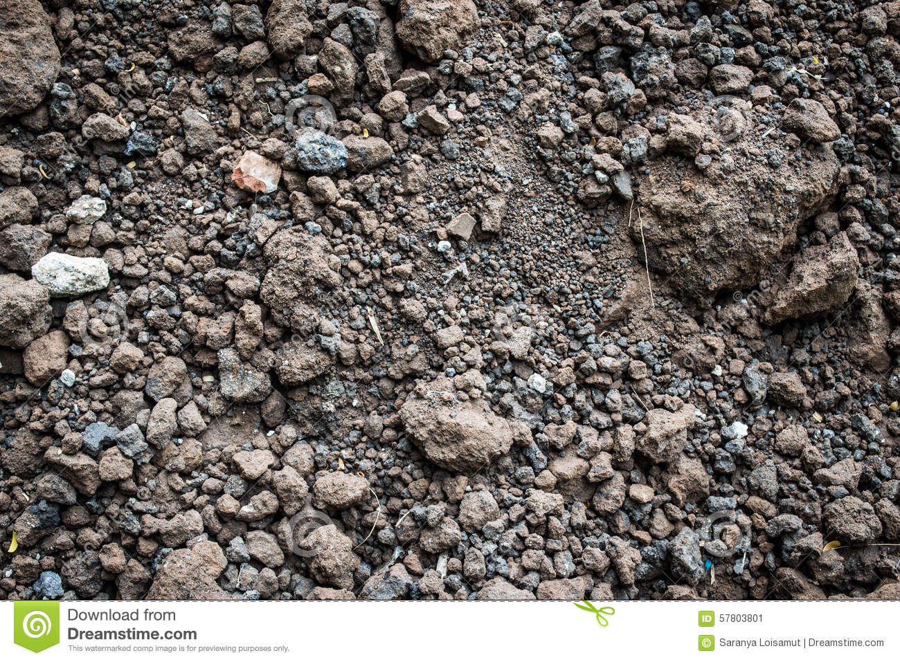 Soil texture background stock photo image 57803801 for Minerals in dirt
