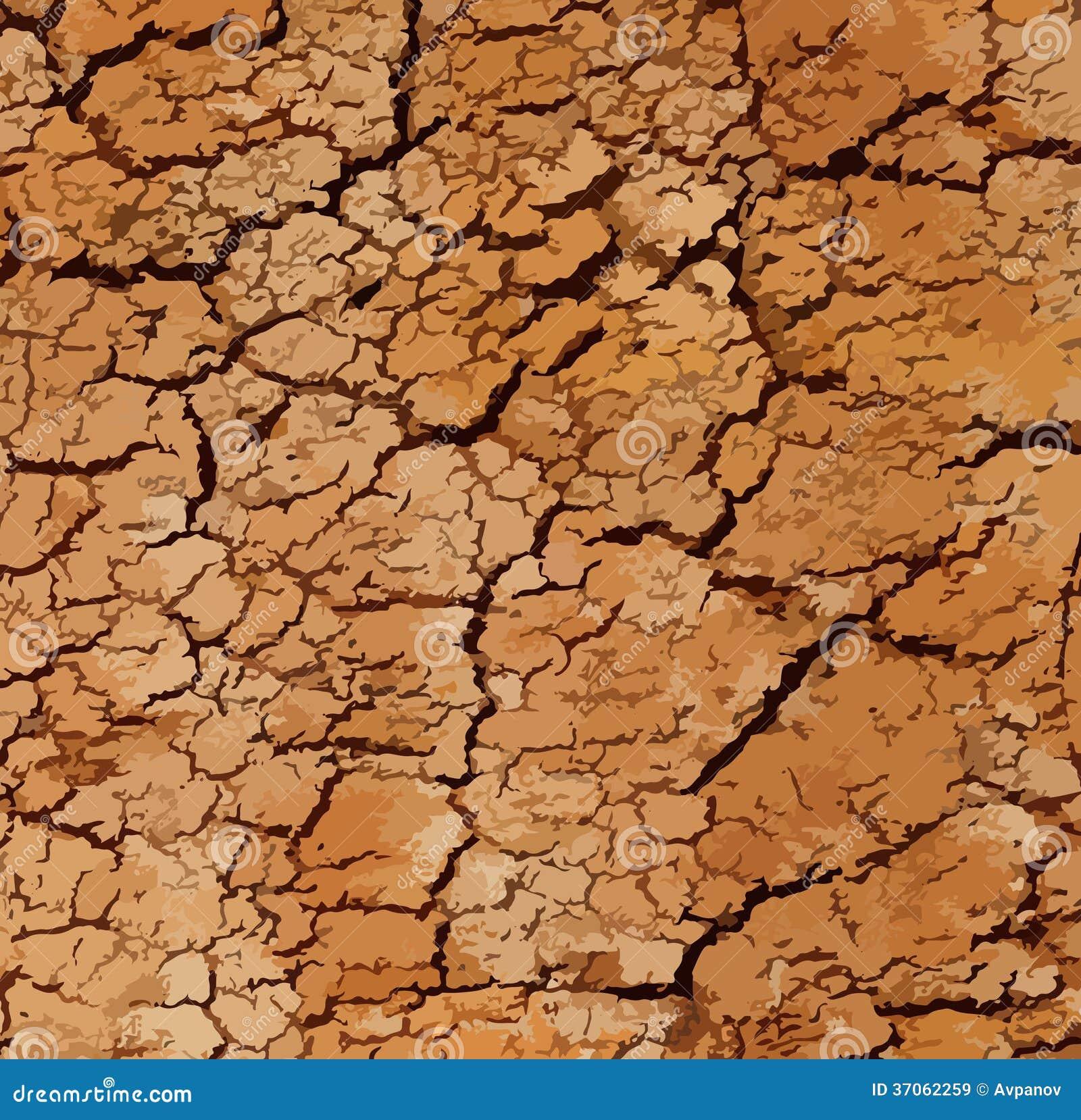 Soil texture vector