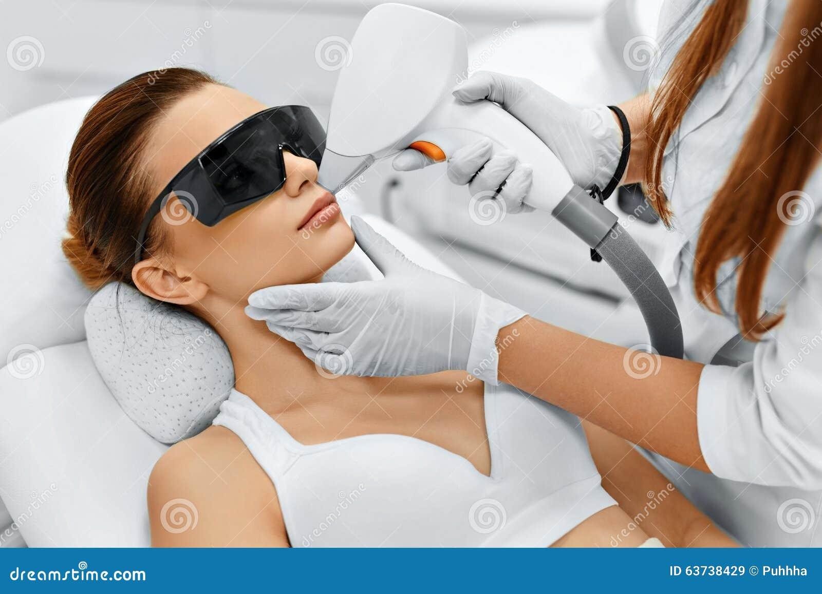 Soin de visage Épilation faciale de laser epilation Peau lisse
