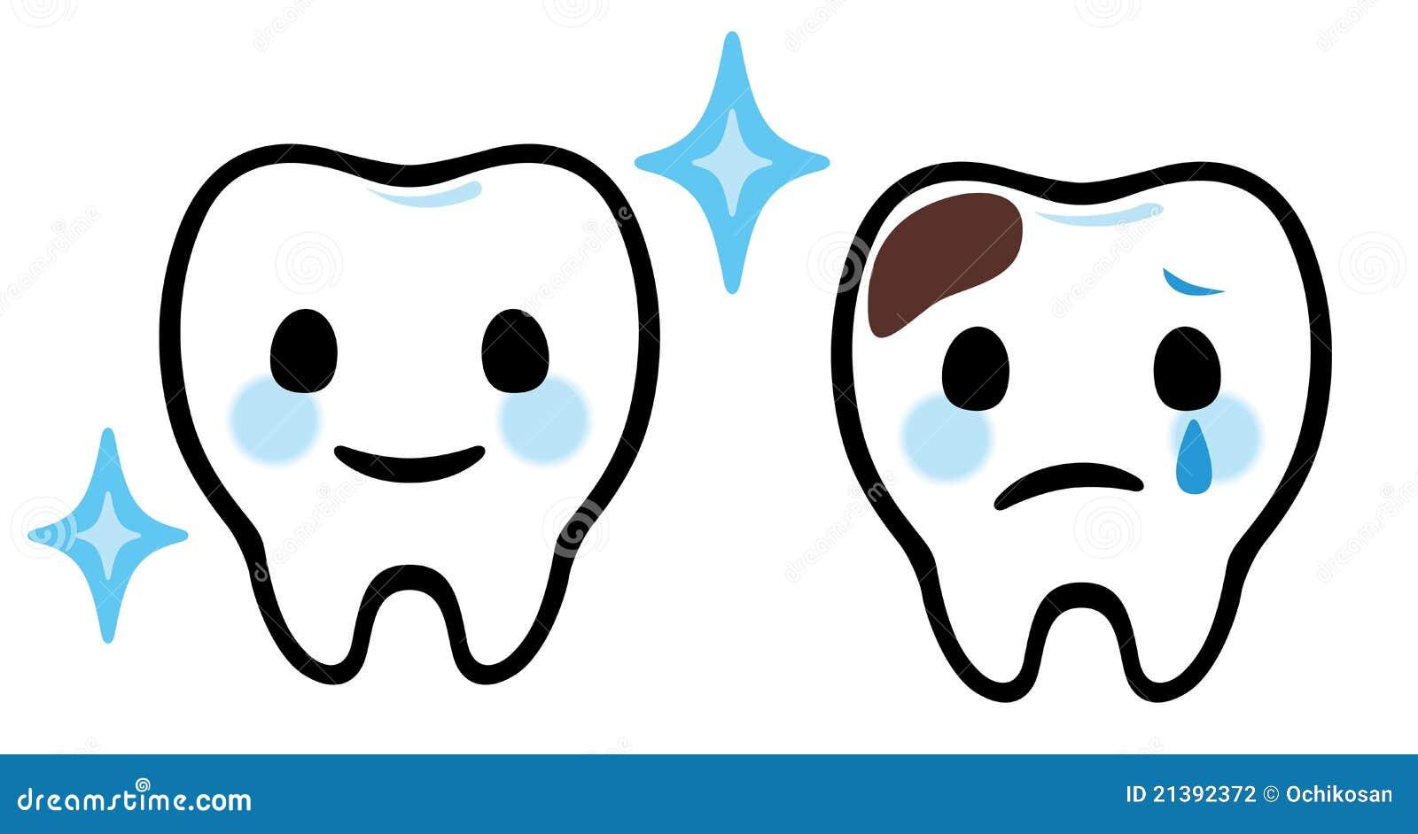 Soin dentaire de dents de dessin anim photographie stock - Dessin de dent ...