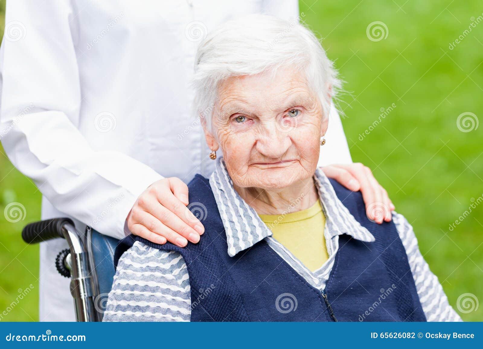 Soin plus âgé