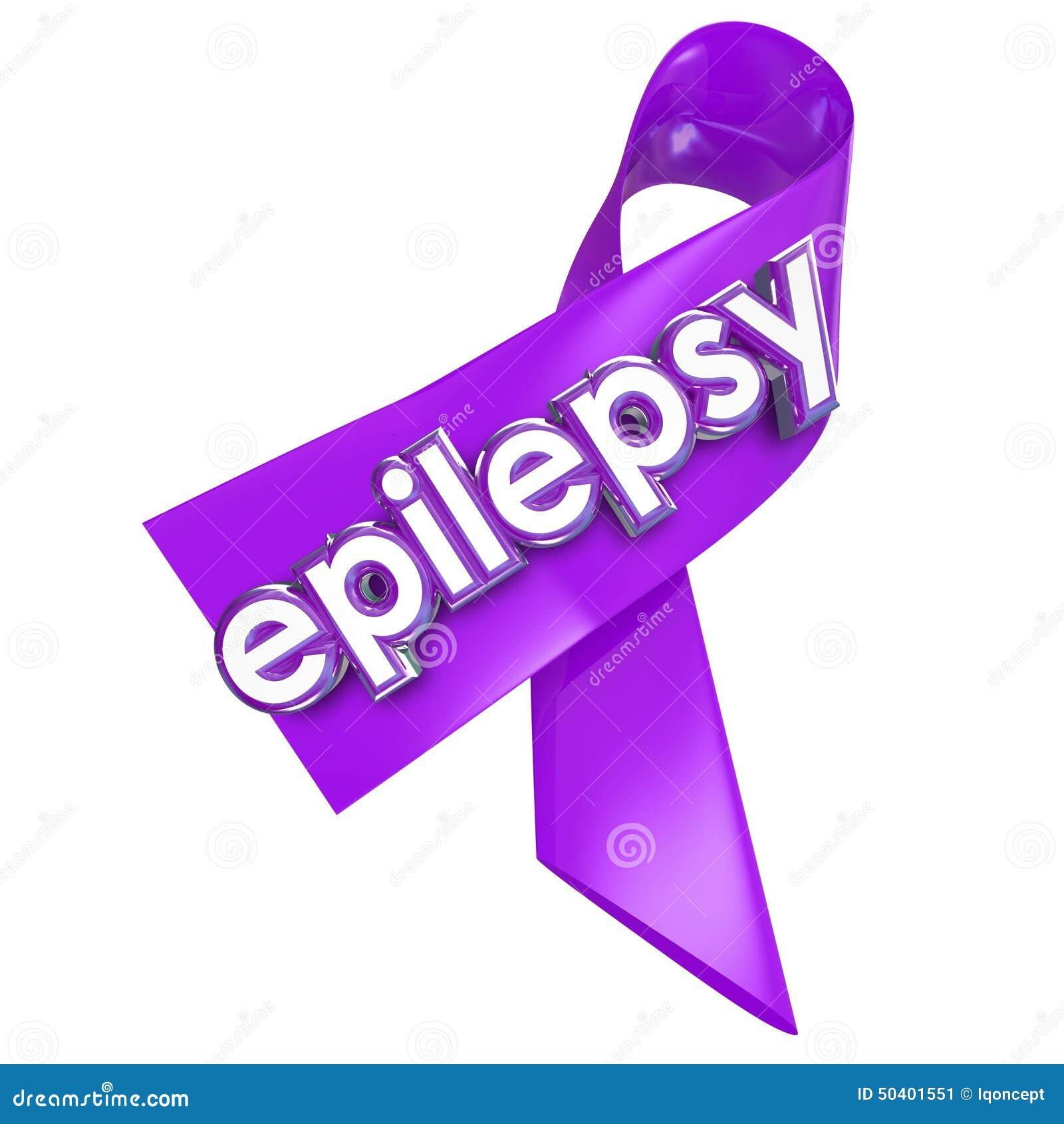 Soins de santé pourpres de festin de traitement de ruban de lavande d épilepsie