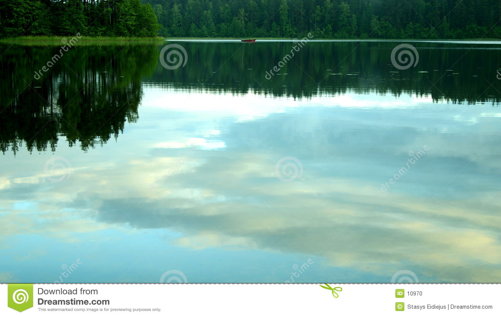 Soirée paisible par le lac