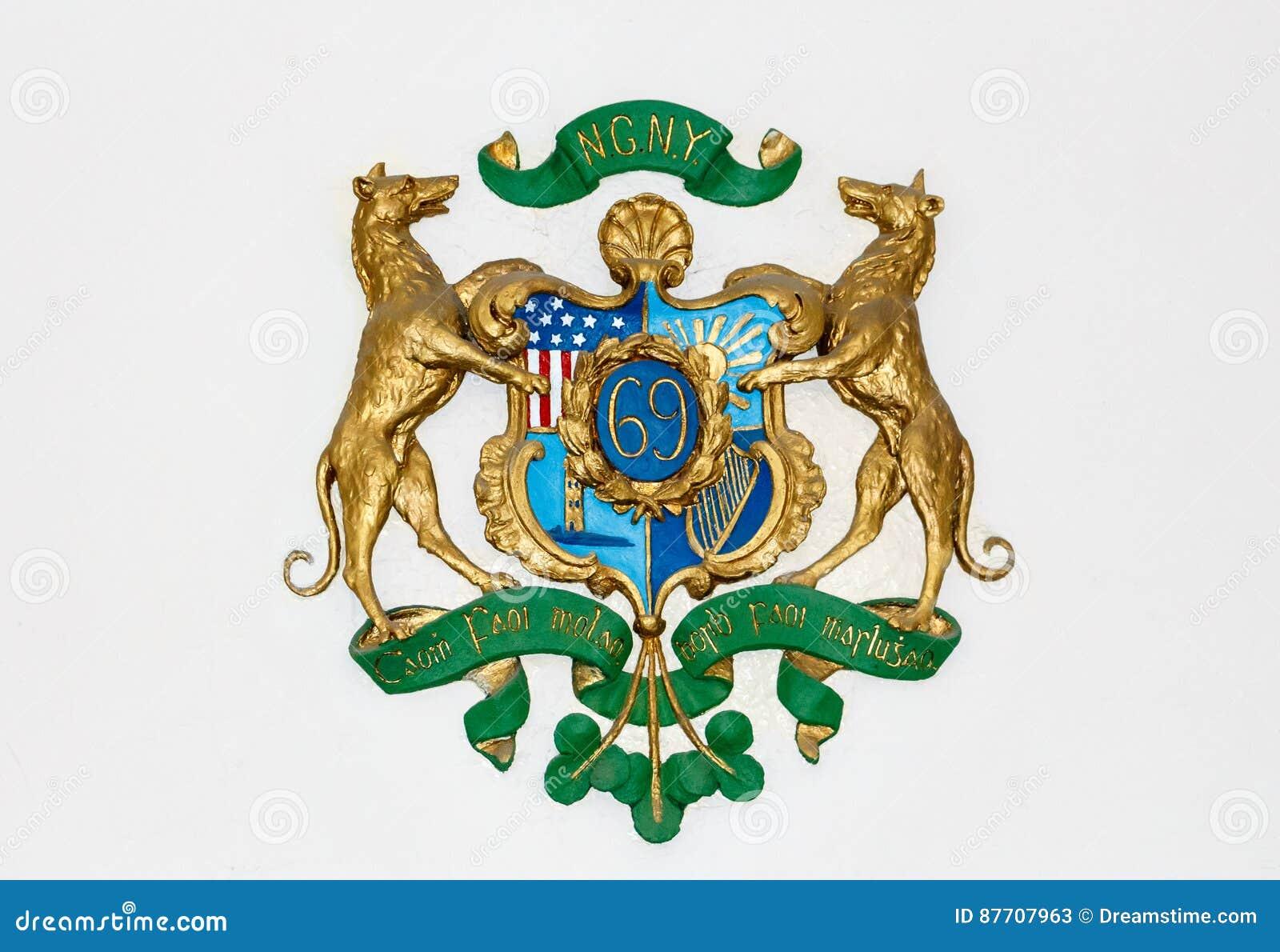 Soixante-neuvième insignes de New York