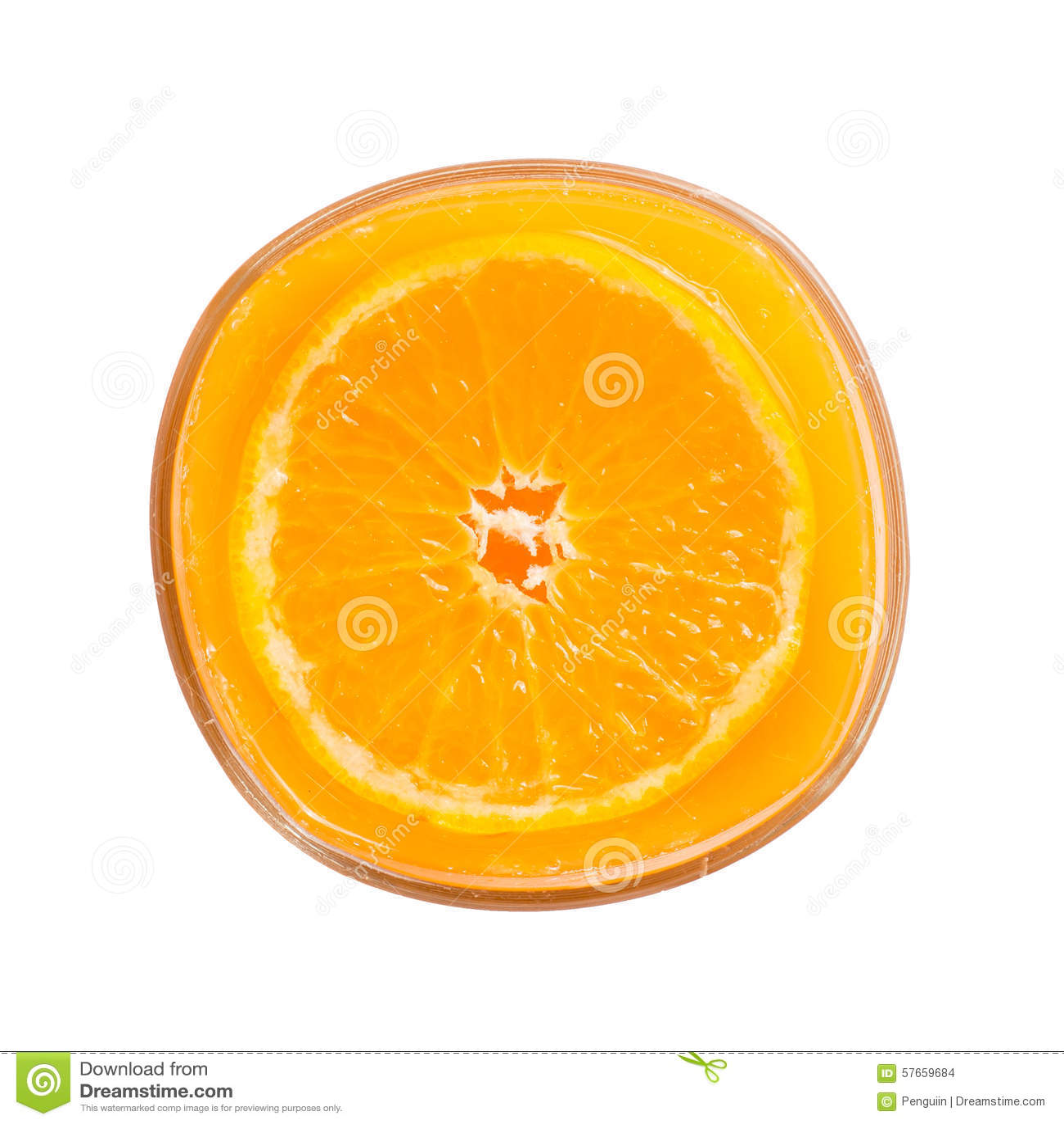 Sok pomarańczowy pomarańcze na białym, Odgórnym widoku,
