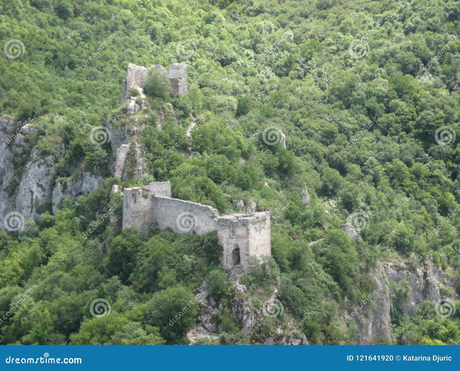 Soko Grad, ciudad vieja, fortaleza, ciudad medieval, Serbia
