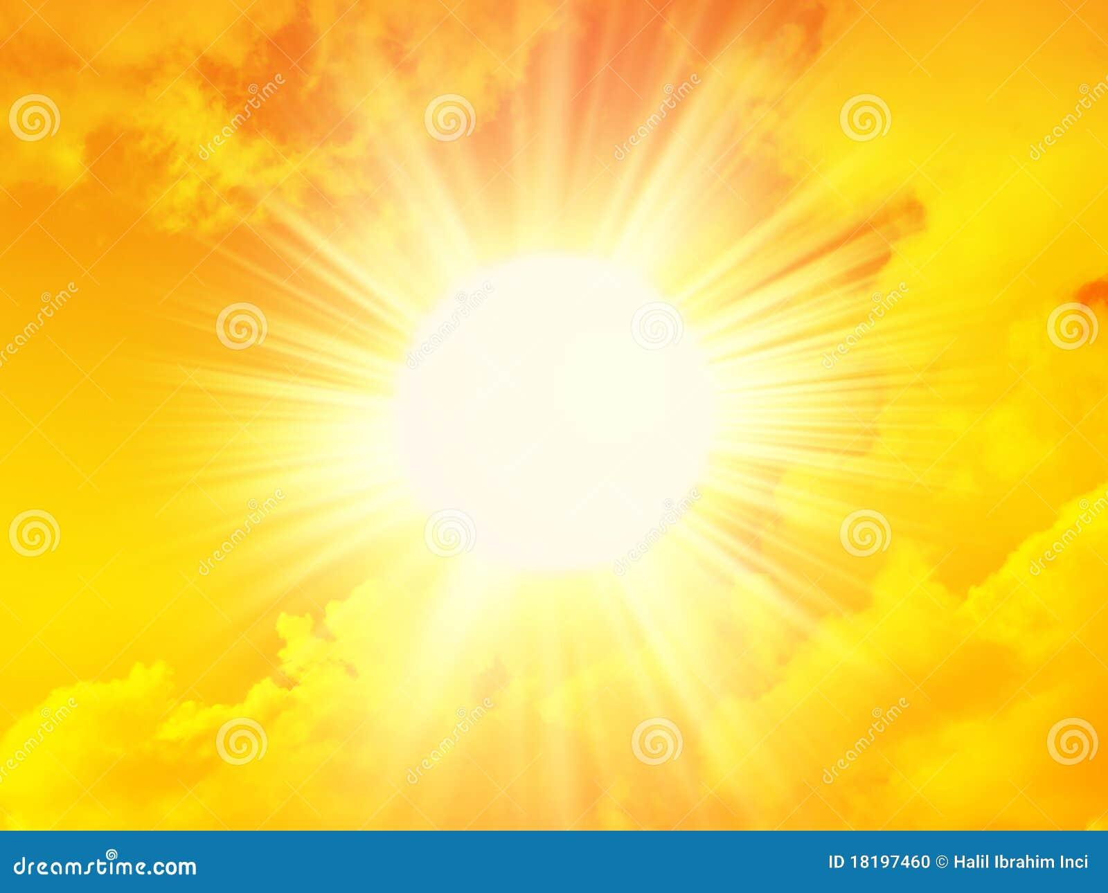 Sol de la ma ana foto de archivo imagen 18197460 for Fondo del sol