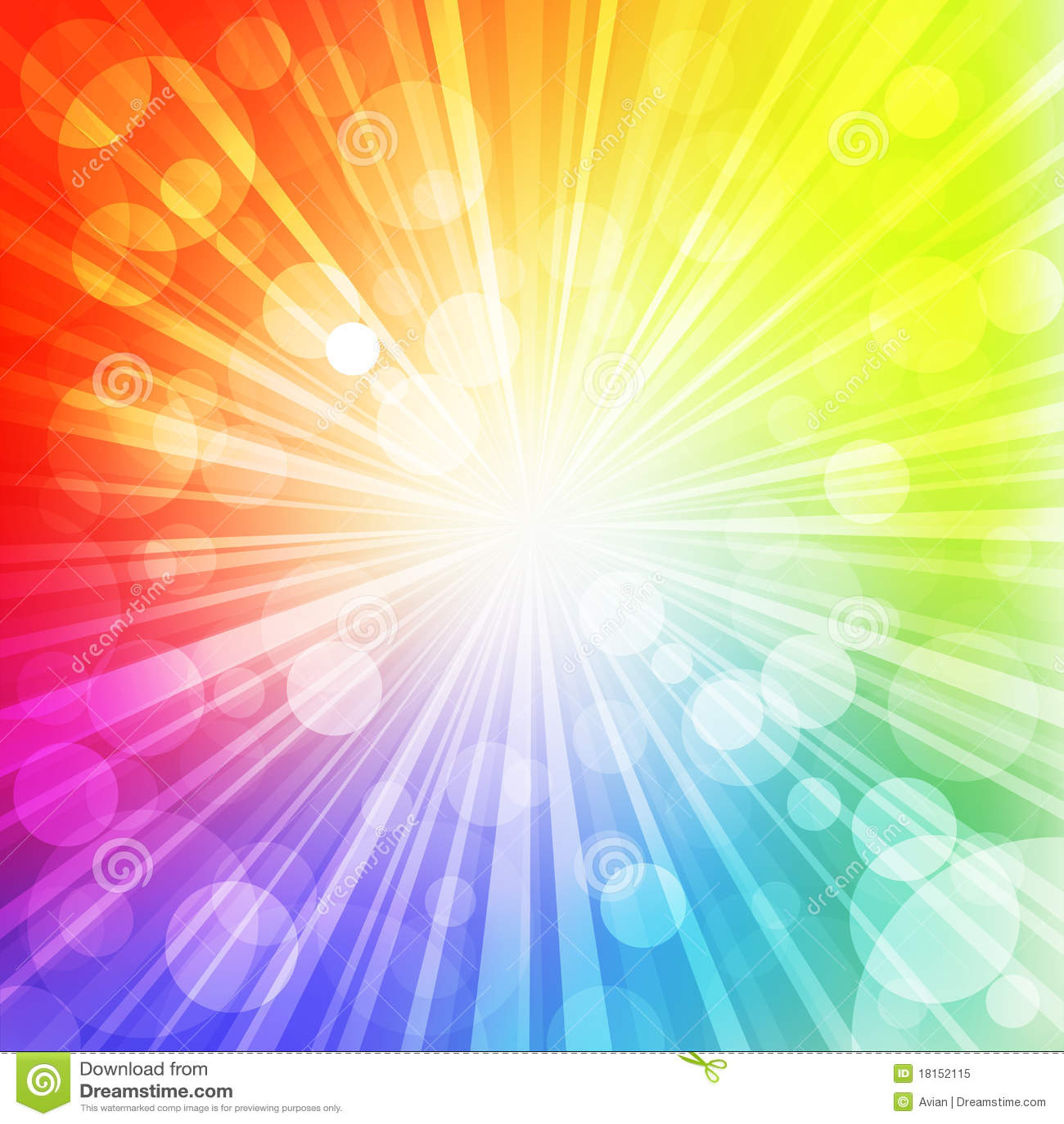 Sol del arco iris