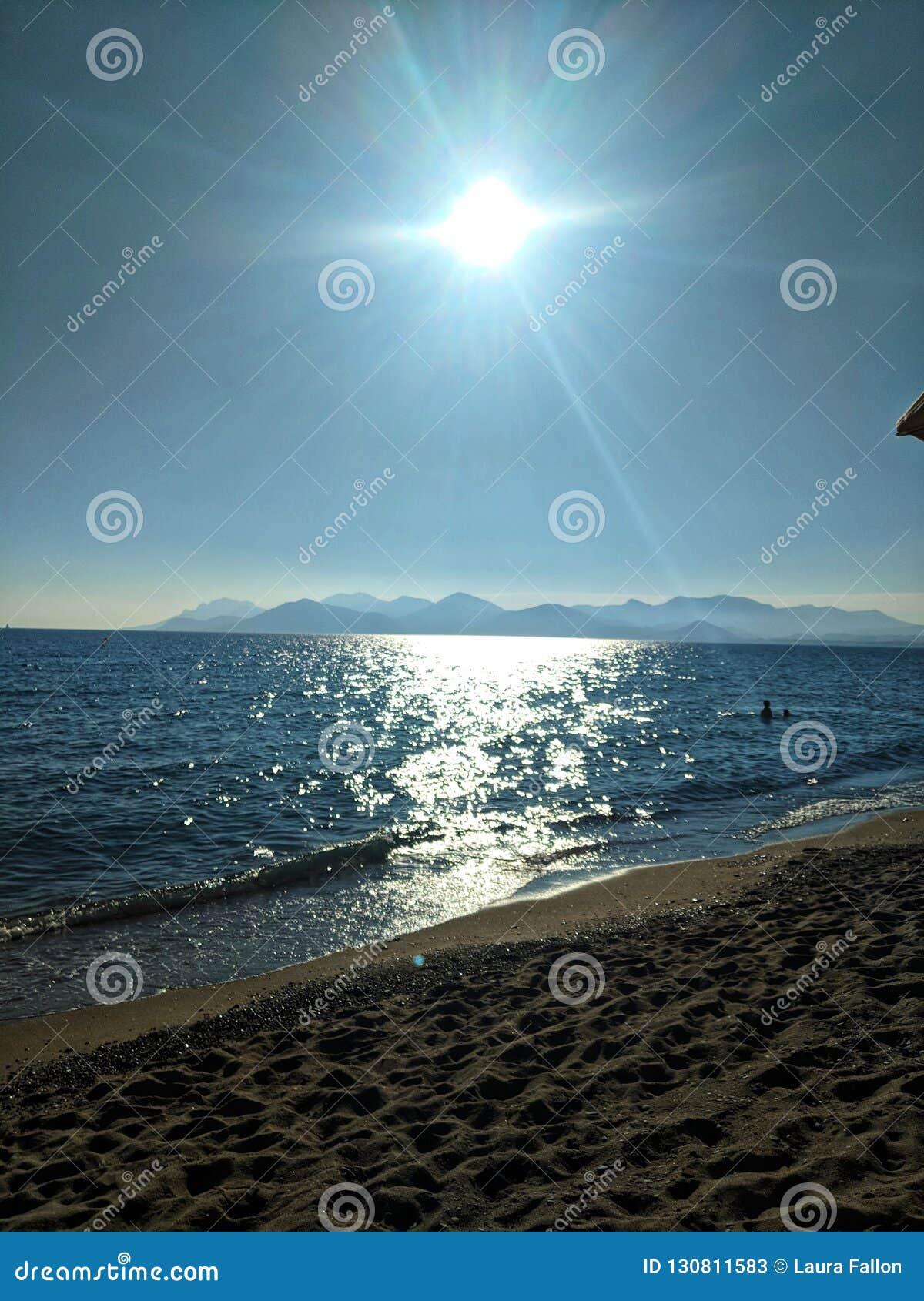 Sol del invierno en Cannes