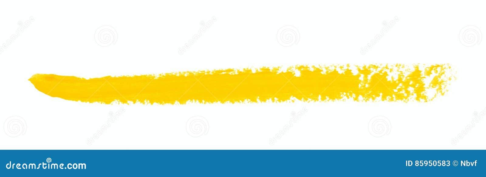 Sola línea movimiento del marcador aislado