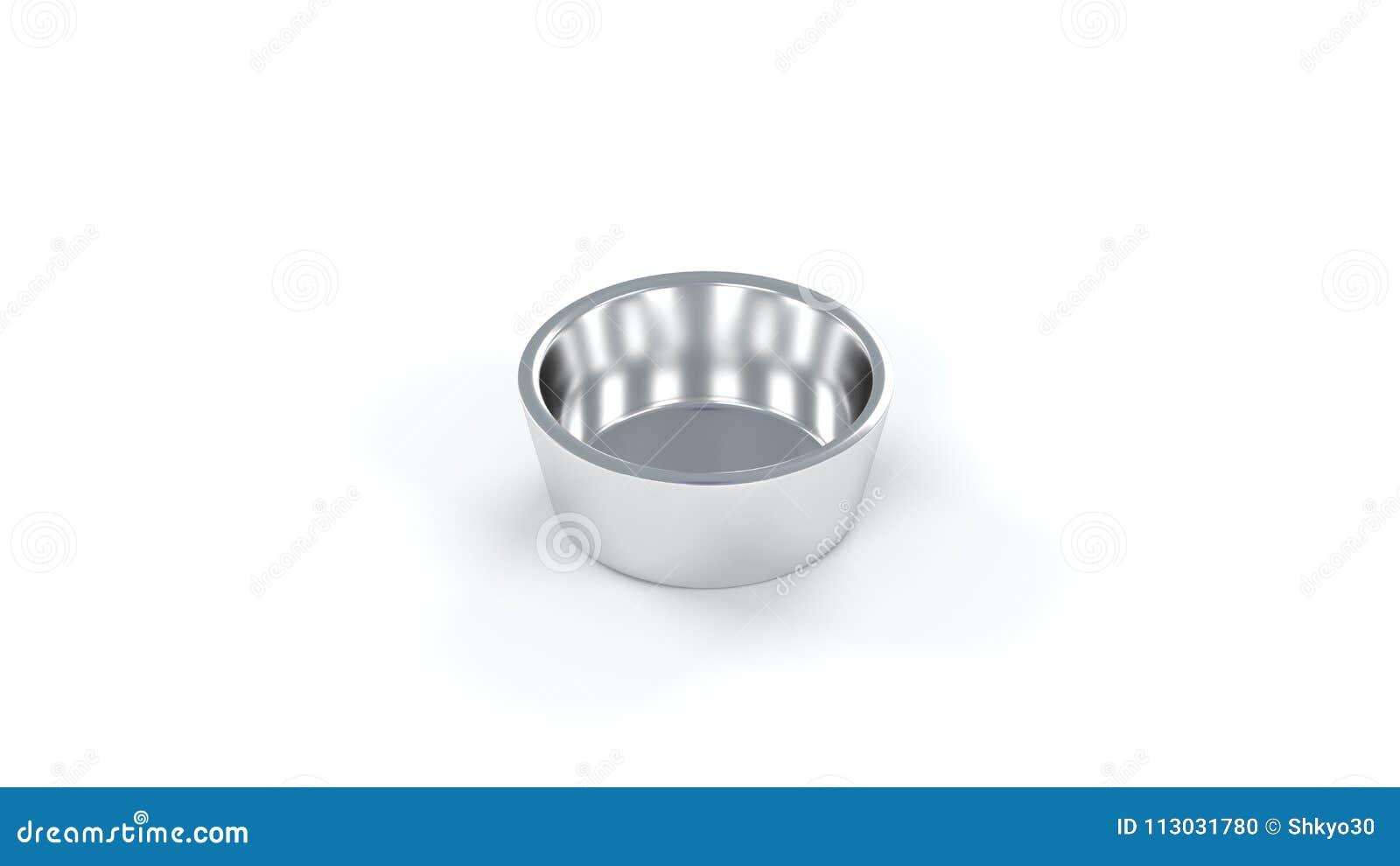 Solamente una taza brillante metálica básica