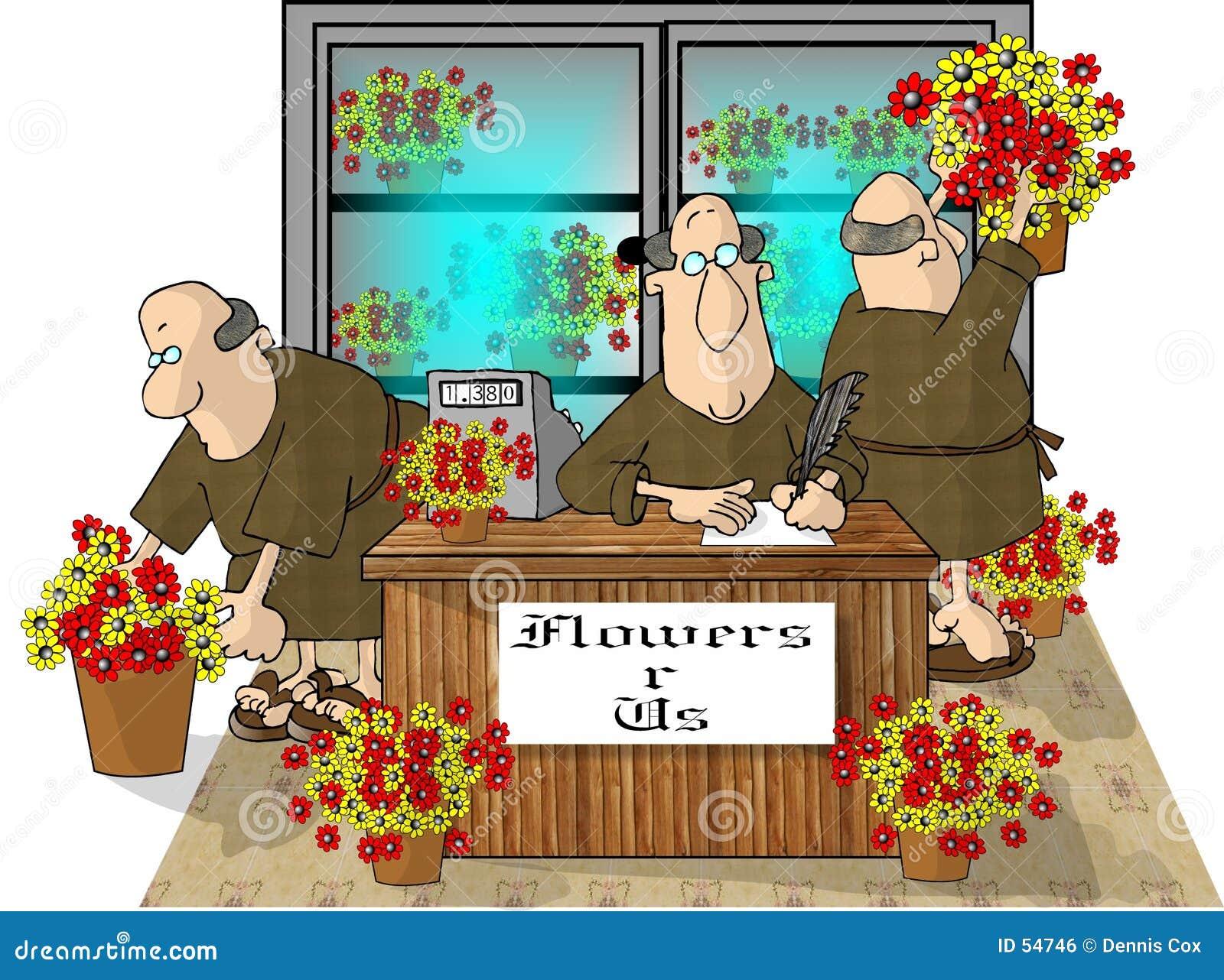 Solamente usted puede prevenir a frailes del florista