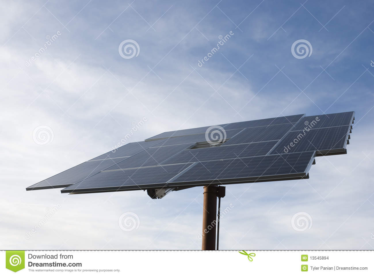 Solar Array Stock Images - Image: 13545894