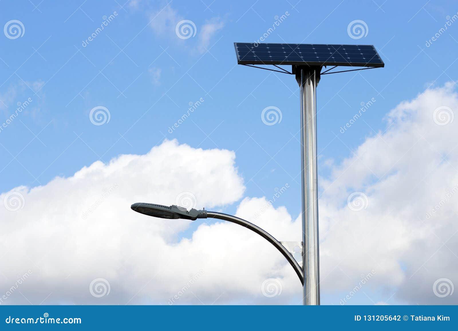 Solar Street Light Stock Image Cartoondealer Com 52456915