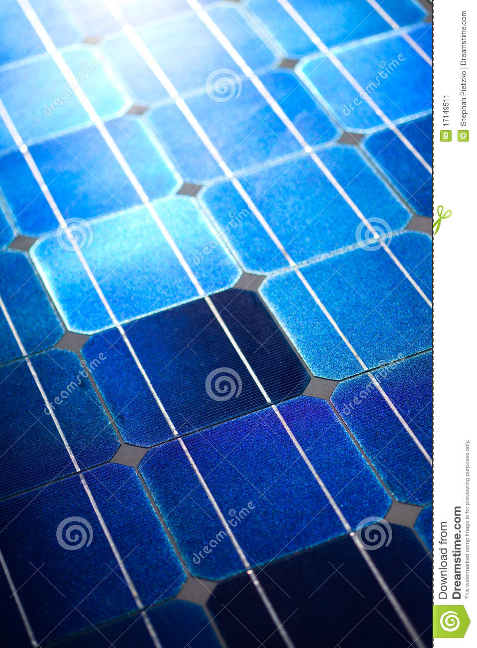 Solar Cells Pattern Background Texture Stock Image Image