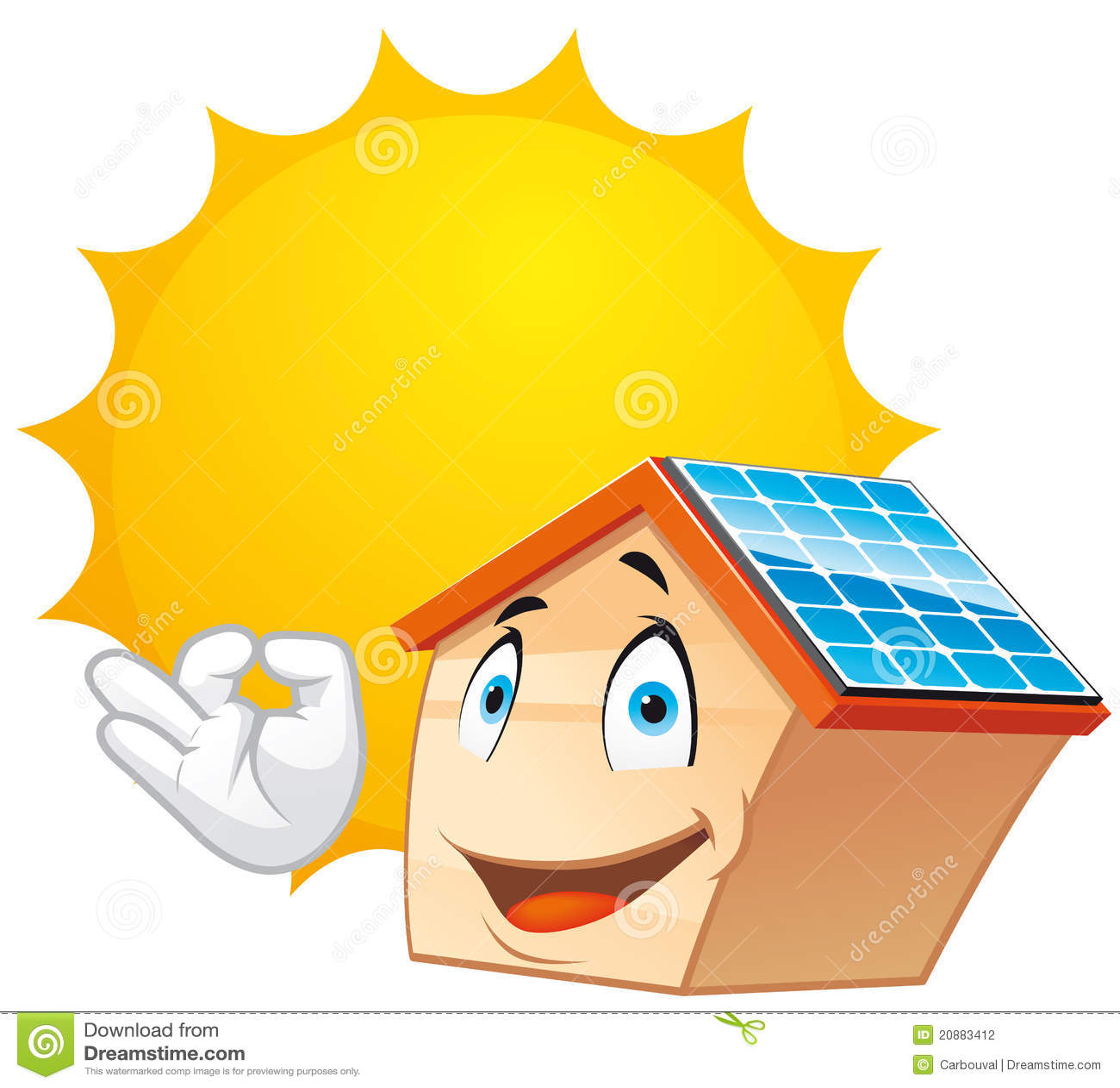 Solar Energy Stock Illustration Illustration Of