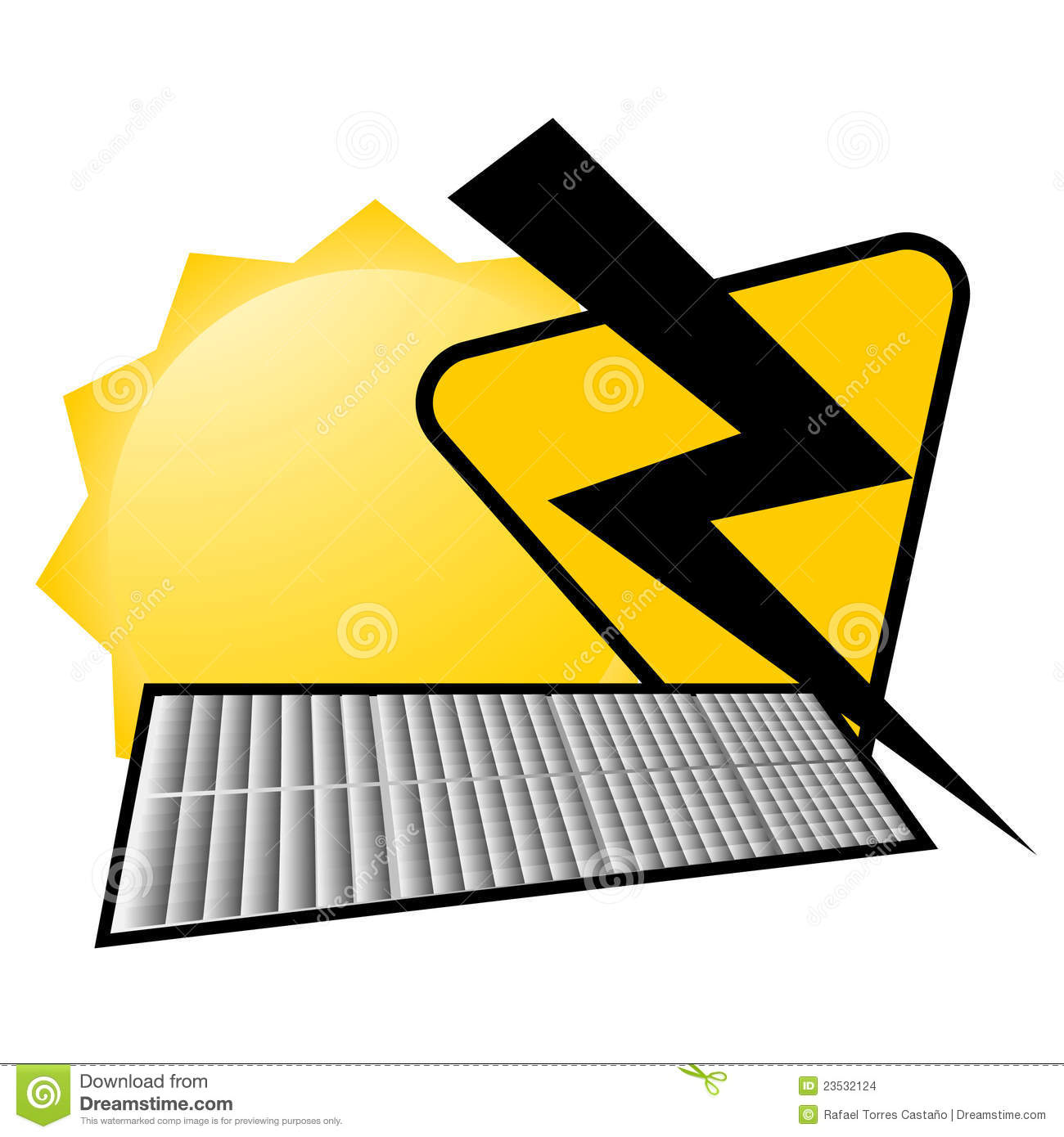 Solar Energy Icon Stock Images - Image: 23532124
