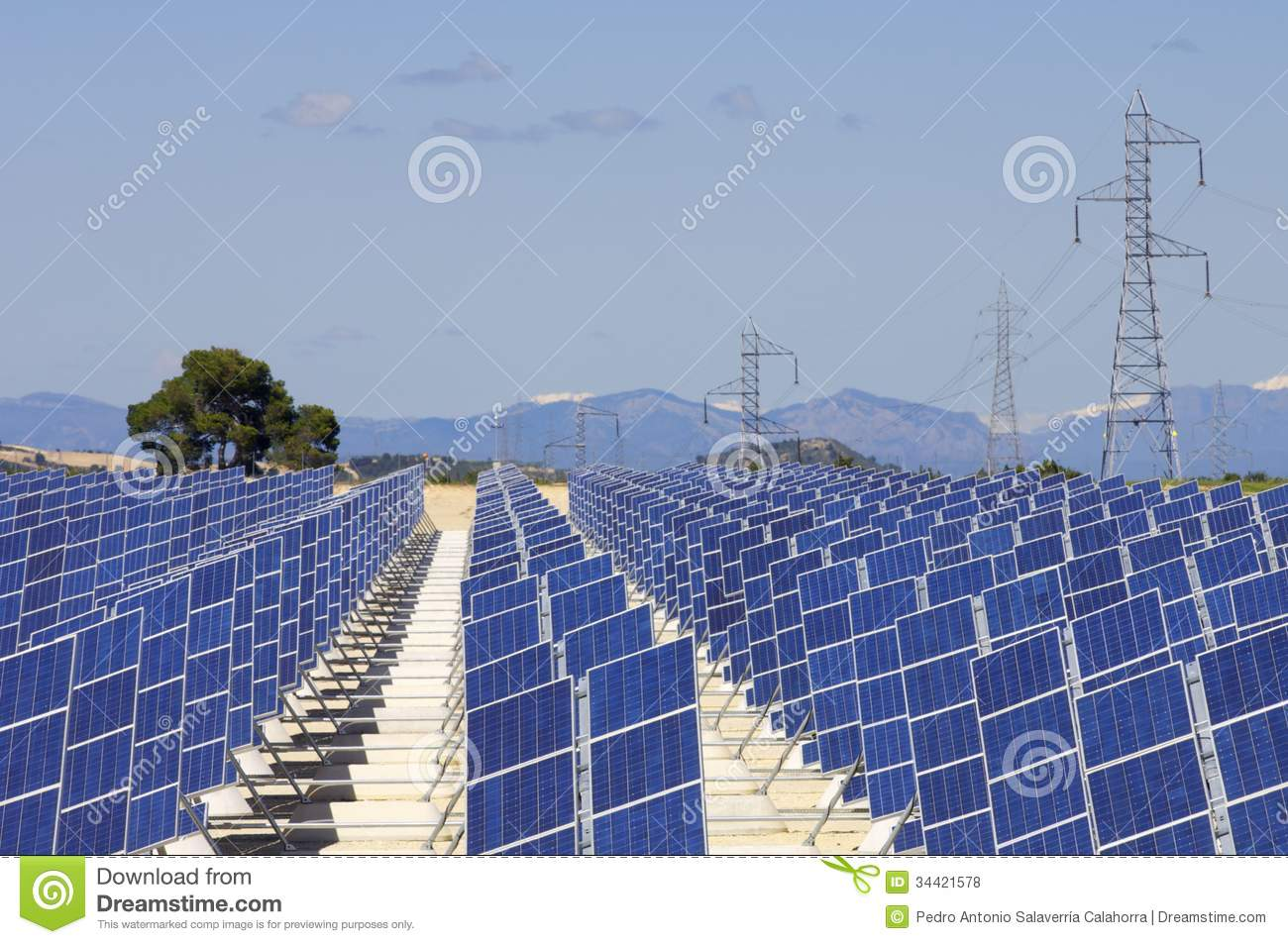 solar energy stock photo. image of detail, green, installation, Powerpoint templates
