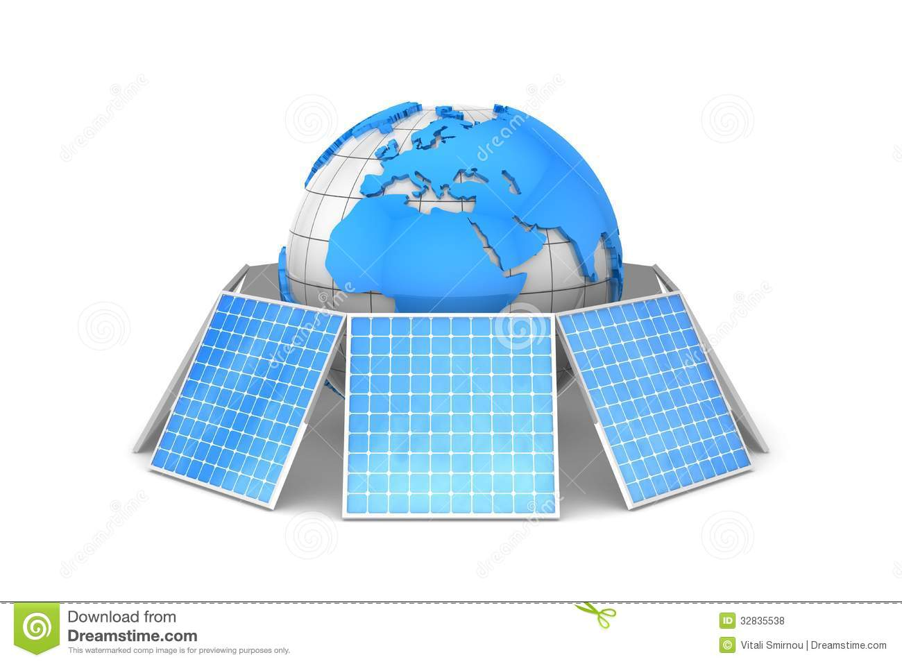 solar energy stock photo. image of world, alternative - 32835538, Powerpoint templates