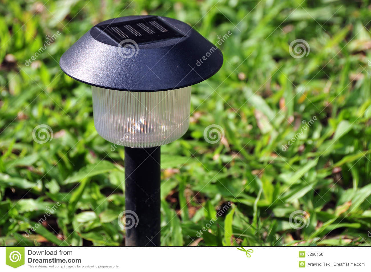 solar garden lamp in the house garden india